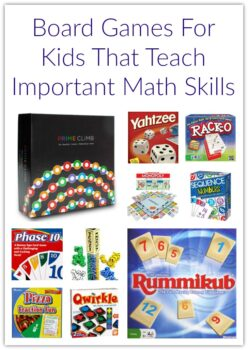 Board Games For Kids That Teach Important Math Skills